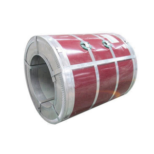 Color coated roll